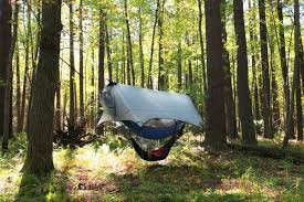 nube stratos hammock shelter for safe camping above the ground