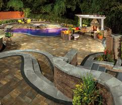 Paving Stones Patio Nps Pool Supply For A Craftsman Spaces With A Landscaping Latham
