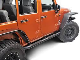 jeep rubicon 4x4 4 door redrock 4x4 wrangler 3 in curved side textured black