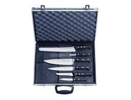 mallette de cuisine mallette magnétique pour 6 couteaux finarome equipement de