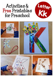 letter k activities for preschool the measured mom