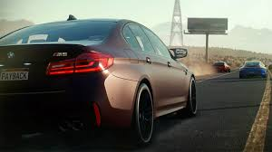 need for speed bmw 2018 bmw m5 makes debut in need for speed payback autoblog
