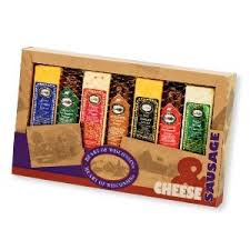 Wisconsin Cheese Gifts Amazon Com Heart Of Wisconsin Cheese U0026 Sausage Variety Pack