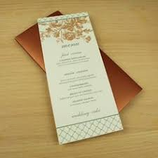 diy sea shell wedding and event menu template from