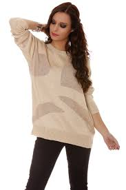 fashion vetement femme large col rond en beige vêtement femme fashion mode femme 912