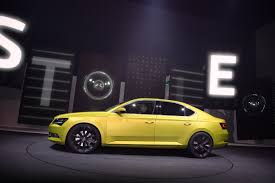 volkswagen group the new škoda superb emotionally rich appearance at the