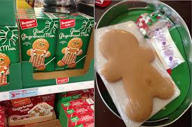 Cookie Decorating Kits Gingerbread Man Pre Made Kit Decorate It Yourself 3 99 Al Com