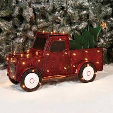 Vintage Ford Truck Decor - holiday time christmas decor 32