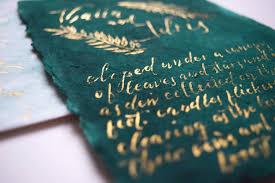 Wedding Invitations Atlanta Genevieve Ali Calligraphy