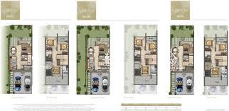 Dubai House Floor Plans Aknan Villas Floor Plans Binayah Real Estate