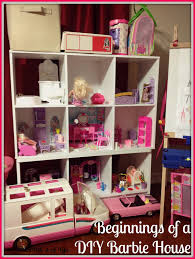 The Coolest Barbie House Ever by Beginnings Of A Diy Barbie House Ashley Nicole Designs