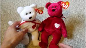 ty beanie babies valentino and valentina youtube