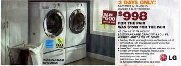 black friday deals on washers and dryers black friday 2009 u2013 redberrydeals