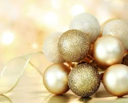 gold ornament backgrounds happy holidays