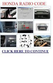 honda odyssey anti theft radio code honda radio code checkout honda radio codes honda radio