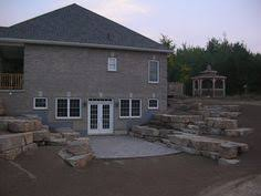 walk out basements walkout basement retaining wall retaining walls 42 created a