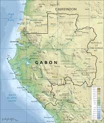 Africa Geography Map by Geography Of Gabon Wikipedia