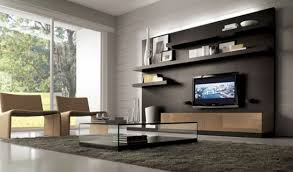 Livingroom Units Furniture Mounted Modern Storage Wall Unit Modern Storage Wall