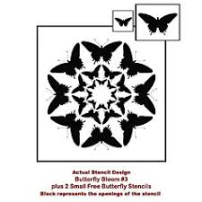 butterfly stencils nursery stencils wall stencils for diy decor