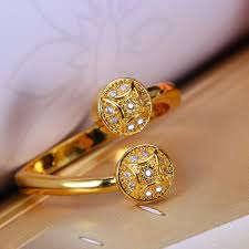 fashion golden rings images Cute professional diamond ring http www jpg