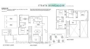high park residences floor plan landed house strata bungalow condo