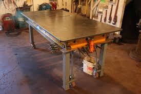 best welding table top home table decoration