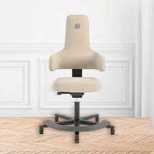 scandinavian design office armchair fabric swivel on casters