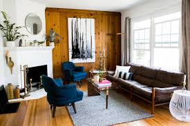 wood paneling the 60s favorite is back apartment therapy