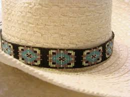 27 best beaded hat bands images on pinterest beaded hat bands