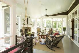 home living space design quarter love this screened in porch cozy home spaces sit with my