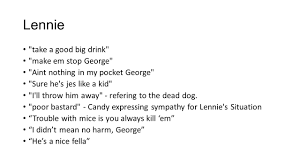 100 key quotes george and lennie 1984 quotes with page