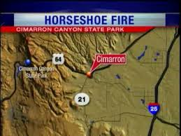 Horseshoe Fire Pit by Thursday Am Horseshoe Fire Update In Cimarron Canyon State Park