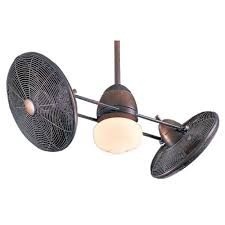 42 inch ceiling fan with twin turbofans and light kit f602 rrb