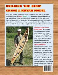canoe model kits just like building the real thing