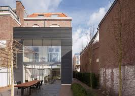 modern extensions reset adds modern extension to a traditional brick townhouse