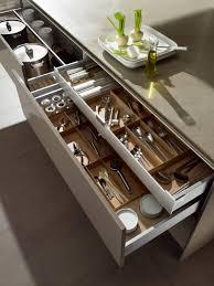furniture home double kitchen utensil drawer organizer bedroom