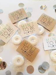 mint to be wedding favors 2 winter wedding favors to buy or diy brit co