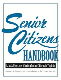 Virginia Power Of Attorney by Virginia State Bar Senior Citizen U0027s Handbook