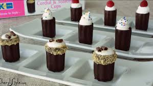 edible chocolate cups to buy chocolate cups with filling