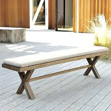 Bench Cushion 48 X 16 From Only A2497 Outside Furniture Pads Outdoor Bench Cushion 48 X