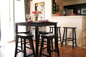 Counter Height Kitchen Table Sets Dining Room Table Height On - Bar height dining table ikea