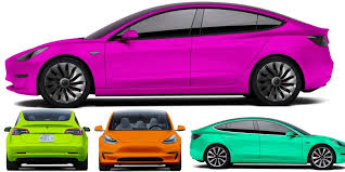 from electrek tesla model 3 colors 3rd party configurator gives