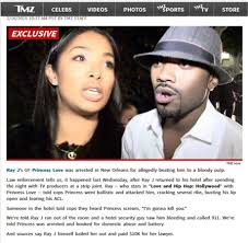 princess love ray j beat up by his girlfriend cracked ribs torn acl princess