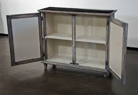 light grey glass cabinet small sideboard buffets media cabinets