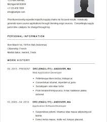Free Basic Resume Builder Free Basic Resume Template Lofty Traditional Resume Template 8 54