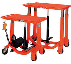 post lift tables hydraulic or electromechanical