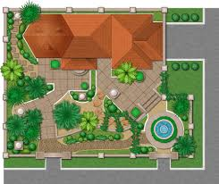 excellent green rectangle modern grass landscaping design tool