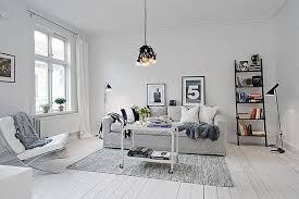 Inviting White Swedish Apartment With Vintage Fireplaces - Swedish apartment design