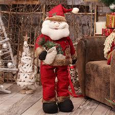 shop personalize large retractable santa doll