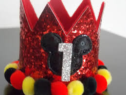 sale mickey mouse birthday crown large headband smash cake